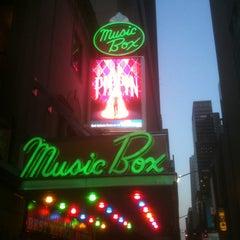 Photo taken at Music Box Theatre by Cynthia L. on 5/2/2013