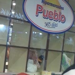 Photo taken at Hipermercado Pueblo by Rodrigo D. on 12/30/2012