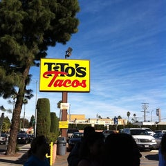 Photo taken at Tito's Tacos by Pat D. on 1/15/2011