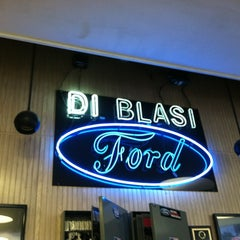Photo taken at Di Blasi Ford by Jason B. on 5/24/2012