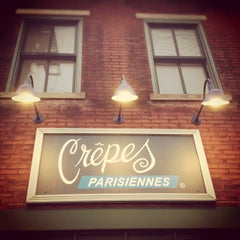 Photo taken at Crepes Parisiennes by Antonio O. on 11/15/2011