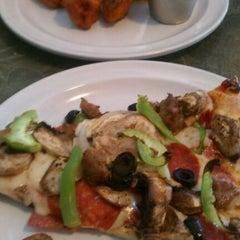 Photo taken at Spot A Pizza Place by Kayin D. on 9/27/2011