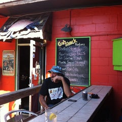 Photo taken at The Folly Beach Crab Shack by Rus S. on 10/15/2011