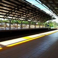 Photo taken at KTM Line - Kepong Sentral Station (KA07) by Daris S. on 1/4/2012