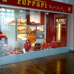 Photo taken at Ferrari Store by Coco Dieux on 1/24/2012