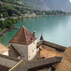 Photo taken at Château de Chillon by Valentina L. on 6/26/2012