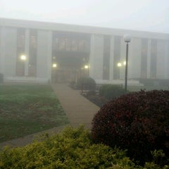 Photo taken at WVU Evansdale Library by David R. on 11/1/2011