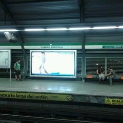 Photo taken at Metro Camino Agrícola by Chosen T. on 3/23/2012