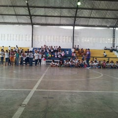 Photo taken at Ginasio de Esportes de Jaguaretama by Rogerio G. on 3/7/2012