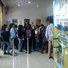 Photo taken at Banco Pichincha by Adriana A. on 10/1/2011
