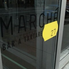 Photo taken at Marché 27 by JulienF on 4/13/2012