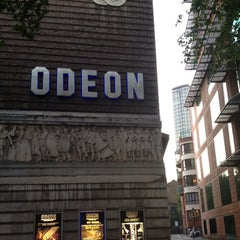 Photo taken at Odeon by laurari on 8/10/2012