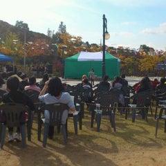 Photo taken at 갈미한글공원 by Sung-Yeon K. on 10/22/2011