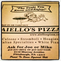 Photo taken at Aiello's Pizza by Becca F. on 8/13/2012