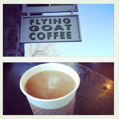 Photo taken at Flying Goat Coffee by Brian H. on 1/29/2012
