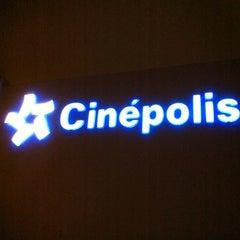 Photo taken at Cinépolis by Ricardo M. on 4/6/2011