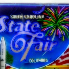 Photo taken at WLTX At The SC State Fair by Beth B. on 10/19/2011