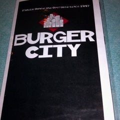 Photo taken at Burger City by James S. on 8/30/2011