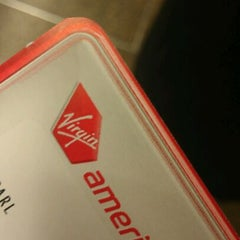 Photo taken at Virgin America by Dia A. on 1/12/2012