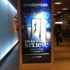 Photo taken at CRISS ANGEL Believe by Thiago B. on 8/11/2011