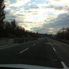 Photo taken at Autostrada A16 Napoli - Canosa by Laura T. on 2/29/2012