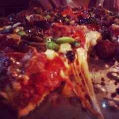 Photo taken at Angelo's Pizza by Dallas Foodie (. on 10/18/2011
