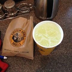 Photo taken at Einstein Bros Bagels by Rickey J. on 6/29/2012