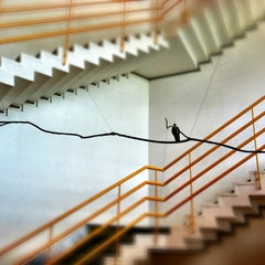 Photo taken at Hong Kong Arts Centre 香港藝術中心 by Luica M. on 1/22/2012