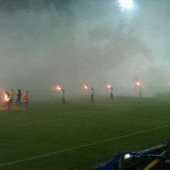 Photo taken at Mandemakers Stadion by Thijs B. on 5/2/2012