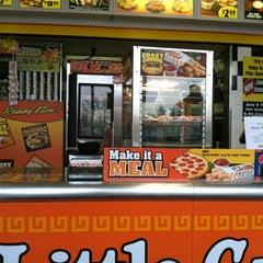 Photo taken at Little Caesars Pizza by Katie S. on 11/16/2011
