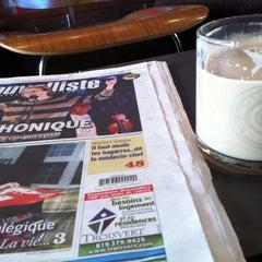 Photo taken at Café Morgane by Alex G. on 12/18/2011