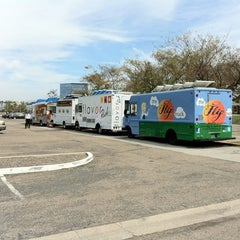 Photo taken at Food Truck Extravaganza by Brandon L. on 4/4/2012