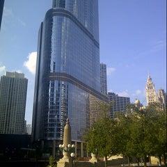 Photo taken at Trump International Hotel & Tower Chicago by Jason W. on 8/15/2012
