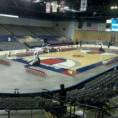 Photo taken at Rushmore Plaza Civic Center Ice Arena by Cory G. on 2/11/2012