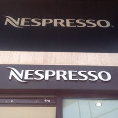 Photo taken at Nespresso Boutique by Natasha D. on 5/19/2012