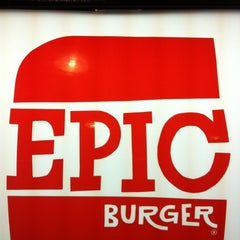 Photo taken at Epic Burger by Jay K. on 3/30/2012