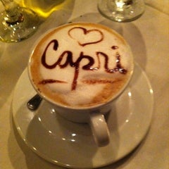 Photo taken at Capri Ristorante by Liz P. on 5/27/2012
