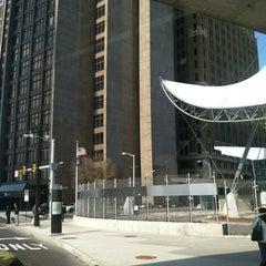 Photo taken at Rosa Parks Transit Center by Edward C. on 3/6/2012
