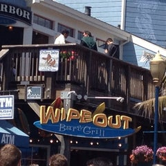 Photo taken at Wipeout Bar & Grill by Erika M. on 8/9/2012