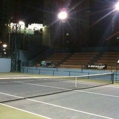 Photo taken at Phú Thọ tennis club by Quang N. on 4/5/2012