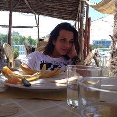 Photo taken at Villa Rosa - Bar Beach & Restaurant by Ilaria B. on 7/18/2012