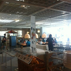 Photo taken at IKEA Restaurant by Sebastian Lukas on 6/16/2012