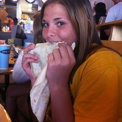 Photo taken at Burrito Boarder by Sara W. on 3/6/2012