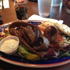 Photo taken at Papouli's Greek Grill by Mary C. on 7/10/2012