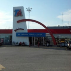 Photo taken at TravelCenters of America by Aaron F. on 7/22/2012