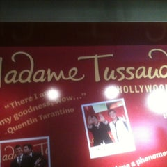 Photo taken at Madame Tussauds Hollywood by Veronica B. on 8/6/2012