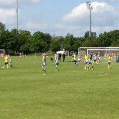 Photo taken at Ølstykke F.C Træningsbaner by Claus L. on 6/9/2012