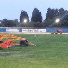 Photo taken at Henlow Dog Stadium by Christopher P. on 7/28/2012