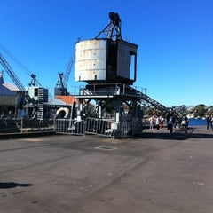 Photo taken at Cockatoo Island by Walter S. on 8/4/2012