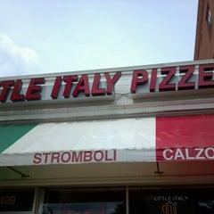 Photo taken at Little Italy Pizzeria by JoJo J. on 4/21/2012